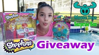 Shopkins (*CLOSED*) GIVEAWAY and Moose Toys Surprise Box Part 2