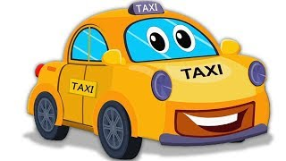 taxi cho trẻ em | rửa xe | video trẻ em | Learning Video | Car Wash Video | Taxi For Children's