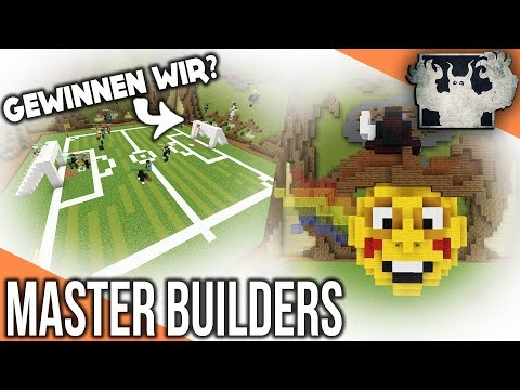 Sind wir die BESTEN? | Minecraft Master Builders