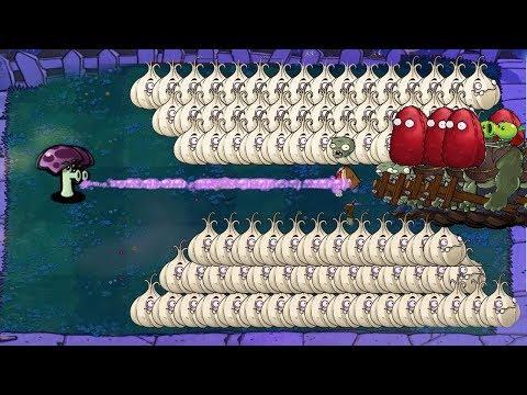 99999 Scaredy-shroom vs Gargantuar Plants vs Zombies Hack