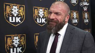 Triple H speaks immediately after another incredible NXT TakeOver: Blackpool