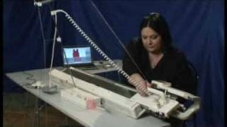 Вязание на машине с компьютерным управлением видео уроки