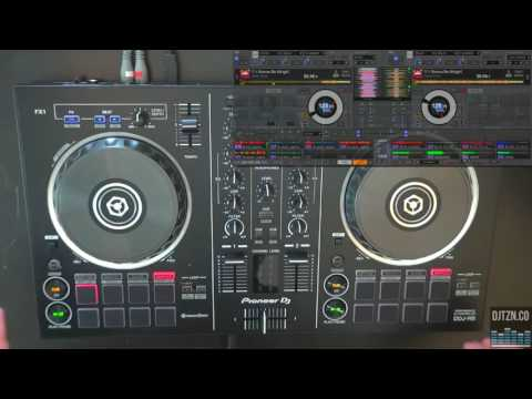 Pioneer DJ DDJ-RB Controller For Rekordbox DJ Video Review