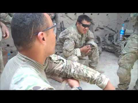 Afghan Local Police smoke up