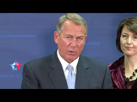 John Boehner Says People Don't Trust Obama (VIDEO)