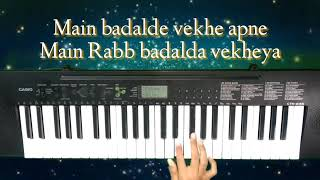 Qismat by Ammy virk latest piano songs