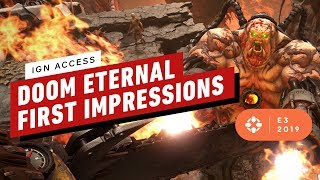 Doom Eternal Hands On Gameplay Impressions - IGN Access