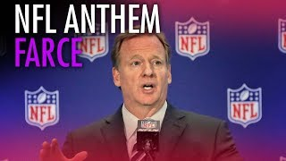 Nfl 34 Anthem Farce 34 Goes On While Goodell Silences Patriotic Players