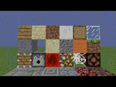 Ciencia en Minecraft. Diversas durezas.