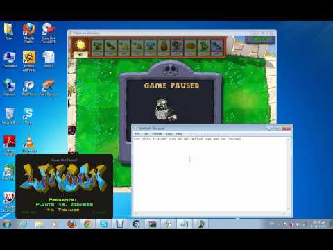 plants vs zombies trainer 4+ and the download link