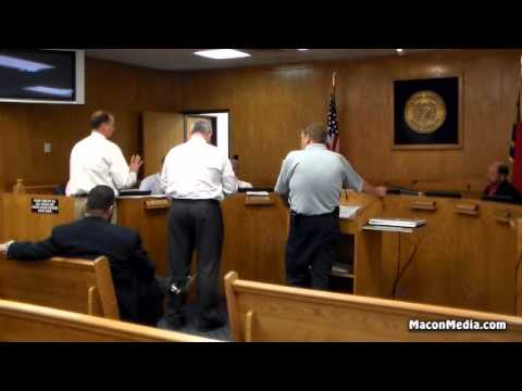 Commissioners and Dangerous Dog Board Hear Dog Attack Complaint 05-12-2015