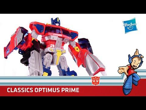 Transformers Optimus Prime Voyager Classics Review en Español