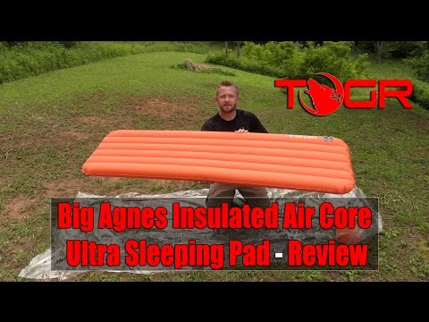 Big Agnes Insulated Air Core Ultra Sleeping Pad - Review