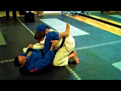 BJJ Spider Guard to Triangle by Professor Andre Lima at Javier Blanchard Brazilian Jiu Jitsu Academy Image 1