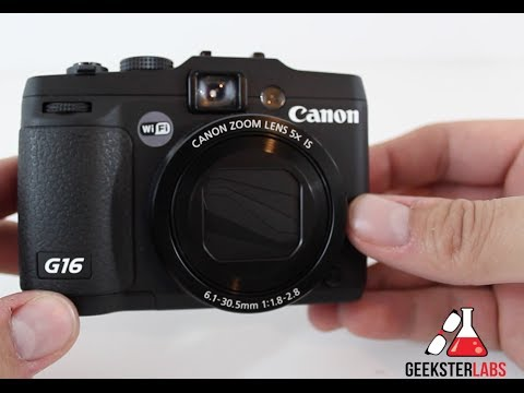 Full Review of Canon G16 PowerShot Point-and-Shoot Camera