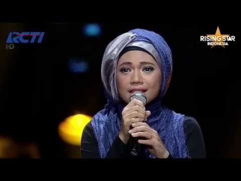 "Indah Nevertari Nyanyikan ""Mother How Are You Today"" Maywood - Rising Star Indonesia Eps. 14"