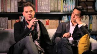 Cast of Into The Badlands - Interview - 10/10/2015 - Paste Studios, New York, NY