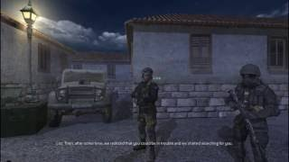 Call of Duty 4: Rooftops Campaign Walkthrough #3 - Rooftops