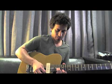 Modern Blues Licks - #1 Robben Ford Chevrolet - Guitar Lesson - Corey Congilio