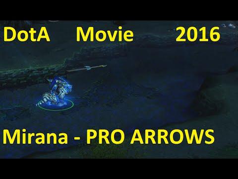 Mirana PRO ARROWS - Dota TheBaltazarTV 2016