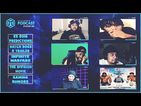 GMG SHOW LIVE 120 - E3 PREDICTIONS, WATCH DOGS 2, INJUSTICE 2, LOW CALL OF DUTY PRE ORDERS AND MORE!