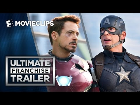 Captain America: Civil War Ultimate Franchise Trailer (2016) - Chris Evans Action Movie HD