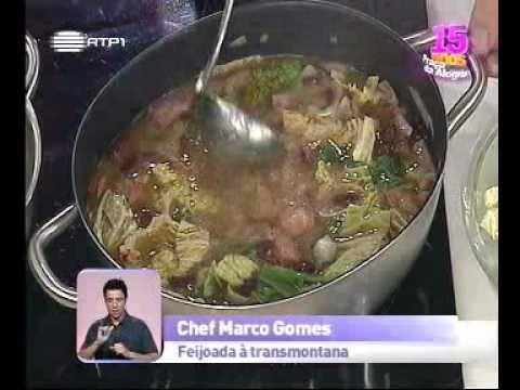 Culinária - Feijoada à transmontana - Praça da Alegria