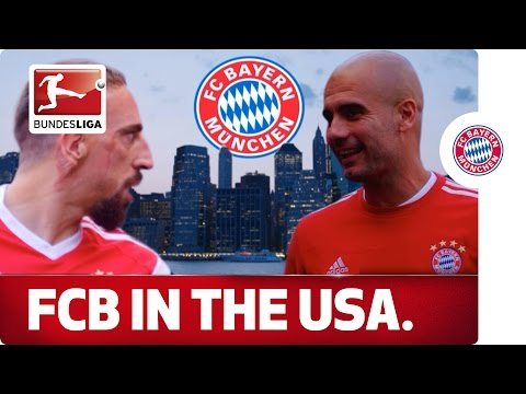 Bayern Munich's American Adventure Begins - FCB Arrive in New York