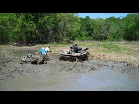 Argo 6x6 with Adair tracks rescues 4-wheeler in the Crazy 8 at river run atv park