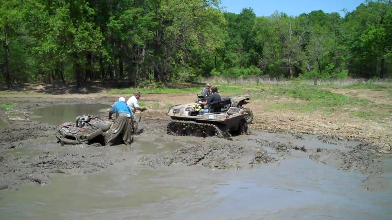 Argo 6x6 with Adair tracks rescues 4-wheeler in the Crazy ...