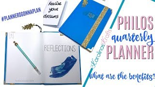 Philos Planner Review Why Should You Use A Quarterly Planner Self Improvement Planner