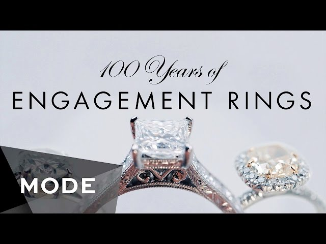 100 Years of Engagement Rings в Glam.com
