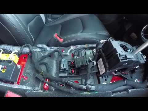 2016-2017 Camaro SS Center Console Removal and Re Installation