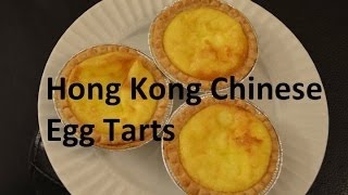 Easy 3 Ingredient Egg Tarts Hong Kong Chinese