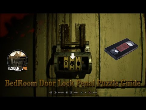 Resident Evil 7 Banned Footage   BedRoom Door Lock Penal Puzzle Guide