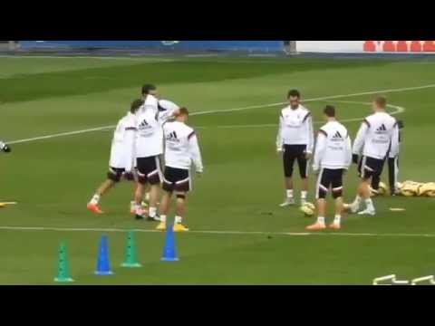Jese Rodriguez Skills Show at Real Madrid Training 7 11 2014