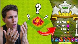 I USED THE WEIRDEST STRATEGY EVER.. AND IT WORKED! (Clash of Clans)