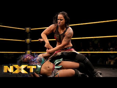 Ember Moon vs. Shayna Baszler - NXT Women's Championship Match: WWE NXT, Feb. 14, 2018