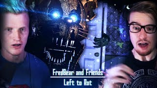 GETTING INSIDE A SPRING LOCK SUIT!! | Fredbear and Friends: Left to Rot #2
