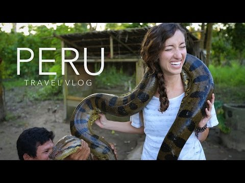 Peru Travel Vlog - Machu Picchu & The Amazon | Gardiner Sisters