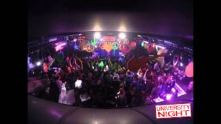 HIPPIE PARTY TIME LAPSE | 21-02-2014 | UNIVERSITY NIGHT | CLUB84