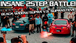 BLACK WIDOW SUPRA LOSES 2 STEP COMPETITION? Clean Culture SofloThrowdown Coverage