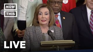 Pelosi and Democrats Speak About Voting Rights | NowThis