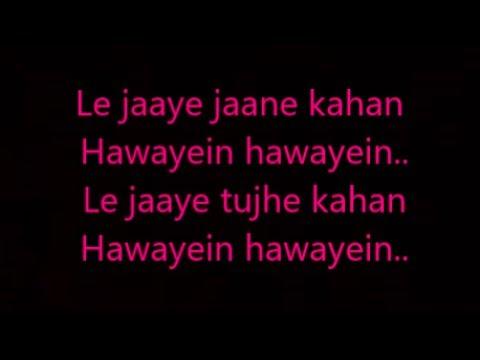 hawayein lyrics