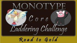 Pokemon Monotype Core Ladder Challenge! Normal Core! Part 1