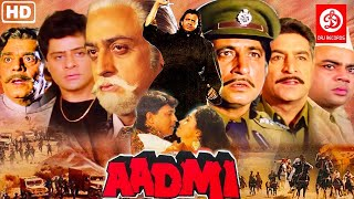 Aadmi {HD} Mithun Chakraborty, Gauthami, Shakti Kapoor | 90's Action Movie | Superhit Indian Movies
