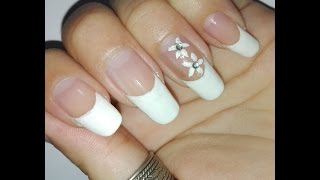 Classic French Manicure Tutorial for Long Nails: No Tools Nail Art Design: Easy DIY Beautiful Nails