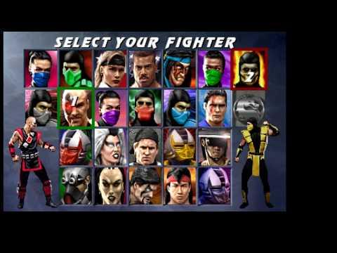 Misc Computer Games - Mortal Kombat 2 - Tomb