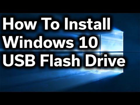 How-To Guide - Windows 10 - Clean Install - USB Thumb Drive