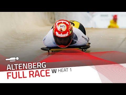 Altenberg   BMW IBSF World Cup 2017/2018 - Women's Skeleton Heat 1   IBSF Official